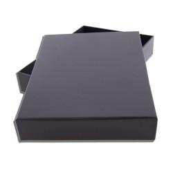 Krabička s víkem černá 160 x 220 mm