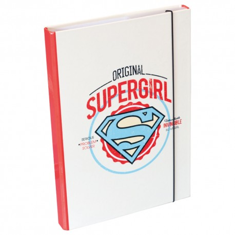 Desky na školní sešity A4 Supergirl