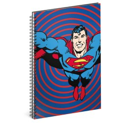 Spirálový blok Superman – Circles, linkovaný , A5