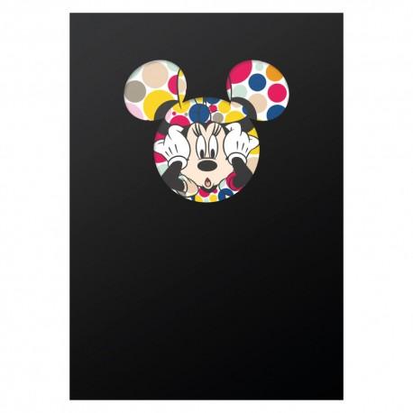 Spirálový blok  Minnie – Head, linkovaný, A4