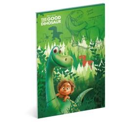 Náčrtník Hodný dinosaurus, A4, 50 listů, nelinkovaný