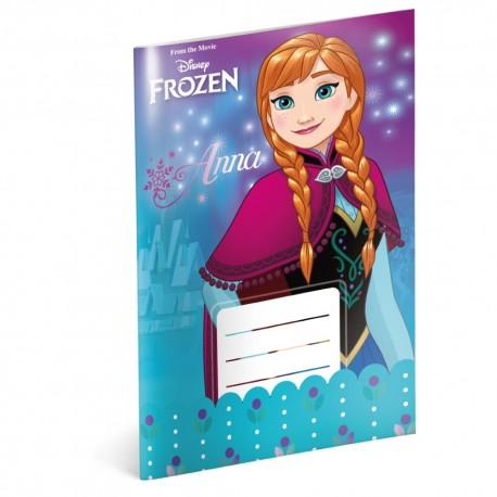 Školní sešit Frozen – Ledové království Flower, A5, 20 listů, linkovaný