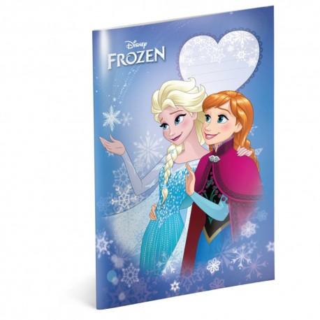 Školní sešit Frozen - Smile A4