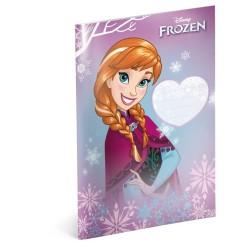 Školní sešit Frozen - Anna A5