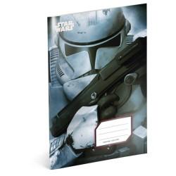 Školní sešit A4 Star Wars - Clone čtverečkovaný