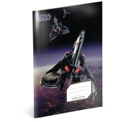 Školní sešit A5 Star Wars - Tri-fighter linkovaný