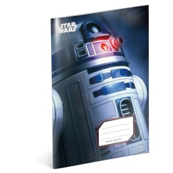Školní sešit A5 Star Wars - R2-D2 čtverečkovaný