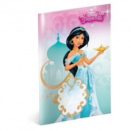 Školní sešit A5 Princess - Jasmine čtverečkovaný