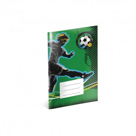Fotbal - A6 notýsek, linkovaný