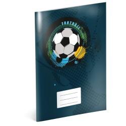 Fotbal - A5 školní sešit, nelinkovaný