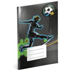Fotbal - A4 školní sešit, nelinkovaný
