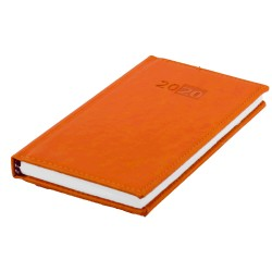 Diář LIBRA týdenní kapesní 2020 český - oranžová