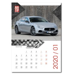 Nástěnný kalendář 2020 Superauto