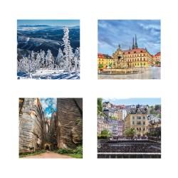 Nástěnný kalendář 2020 Kravata ČESKÁ REPUBLIKA