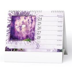 Stolní kalendář 2020 Levandule