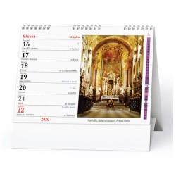 Stolní kalendář 2020 Katolický kalendář