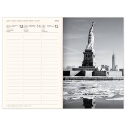 Diář NEW YORK týdenní B6 magnetický 2020