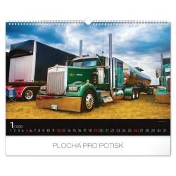 Nástěnný kalendář 2020 Trucks