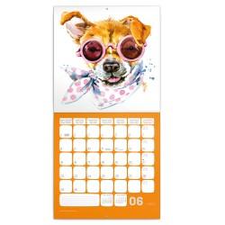 Nástěnný kalendář 2020 Kamarádi z akvarelu