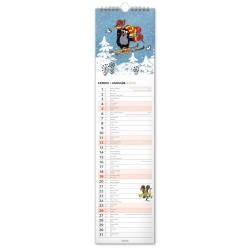 Nástěnný kalendář 2020 Krteček - s českými a slovenskými jmény