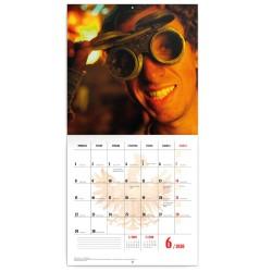 Nástěnný kalendář 2020 Čertí brko