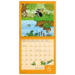 Nástěnný kalendář 2020 Krteček