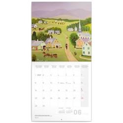 Nástěnný kalendář 2020 Naivní umění - Konstantin Rodko