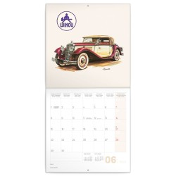 Nástěnný kalendář 2020 Classic Cars - Václav Zapadlík