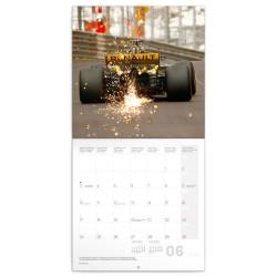 Nástěnný kalendář 2020 Formule - Jiří Křenek