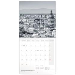 Nástěnný kalendář 2020 Budapešť