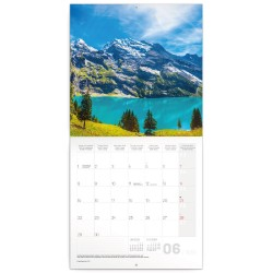 Nástěnný kalendář 2020 Alpy