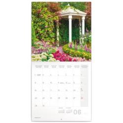 Nástěnný kalendář 2020 Zahrady