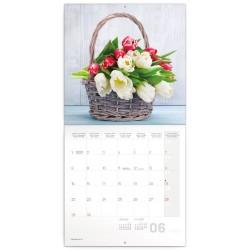 Nástěnný kalendář 2020 Tulipány