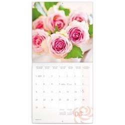 Nástěnný kalendář 2020 Růže - voňavý
