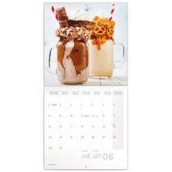 Nástěnný kalendář 2020 Sladkosti