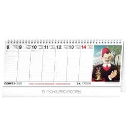 Stolní kalendář Kalendář pro seniory 2020