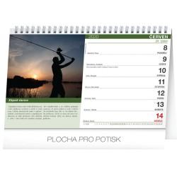 Stolní kalendář Rybářský kalendář 2020